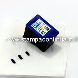 refill clip universal schwarz farbe f r druckerpatronen hp. Black Bedroom Furniture Sets. Home Design Ideas